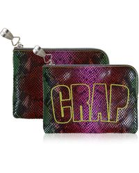 House Of Holland Crap Pouch Snake - Lyst