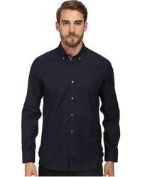 Ted Baker Davinch Ls Dark Check Shirt - Lyst