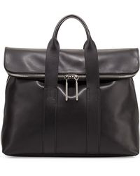 3.1 Phillip Lim 31-Hour Fold-Over Tote Bag - Lyst