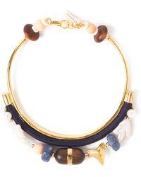 Lizzie Fortunato Shark Tooth Collar Necklace - Lyst