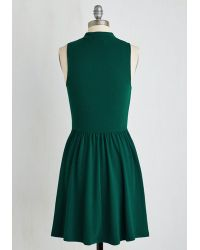 Everly Clothing - Seeking Regal Advice Dress In Forest - Lyst