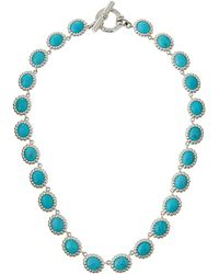 Slane - Nuage S-Hook Station Necklace W/ Turquoise - Lyst