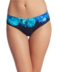 Carmen Marc Valvo - Royal Bloom Hipster Swim Bottoms - Lyst