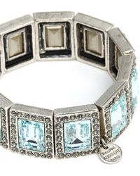 Philippe Audibert - Elea Square Stone Bracelet - Lyst