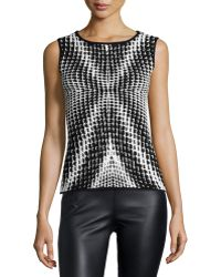 Risto - Printed-front Tank - Lyst