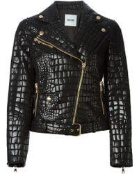 Moschino Cheap & Chic Biker Jacket - Lyst
