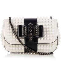 Christian Louboutin Sweety Charity Mini Leather Shoulder Bag - Lyst