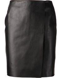 Adam Lippes Wrap Skirt - Lyst