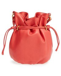Hobo Mesa Cross-Body Bucket Bag pink - Lyst