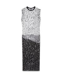 Helmut Lang Annex Print Silk Dress - Lyst