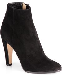 Jimmy Choo Monday Suede Ankle Boots - Lyst