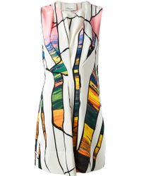 3.1 Phillip Lim - Cracked Print Dress - Lyst