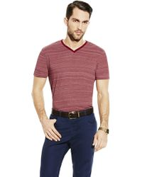 Vince Camuto Heathered V-Neck T-Shirt - Lyst