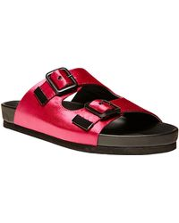 Steve Madden Bountee Satin Open-Toe Sandals - Lyst