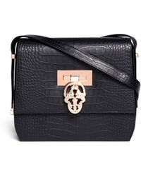 Thomas Wylde Every Girl Crocembossed Leather Satchel - Lyst