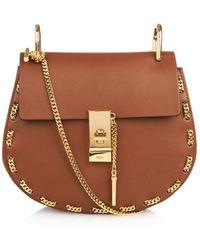 Chloé Drew Threaded-Chain Shoulder Bag - Lyst