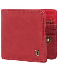 River Island Red Ri Trim Wallet - Lyst