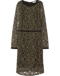Day Birger Et Mikkelsen Grosgrain-trimmed Embroidered Lace Dress - Lyst