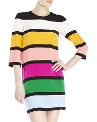 Sonia by Sonia Rykiel Color Block Shift Dress - Lyst