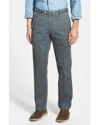 Peter Millar 'Raleigh' Regular Fit Flat Front Pants - Lyst