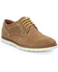 Ben Sherman Micky Suede Oxfords - Lyst