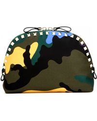 Valentino - Rockstud Printed Cosmetic Case - Lyst