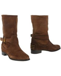 Car Shoe Ankle Boots - Lyst