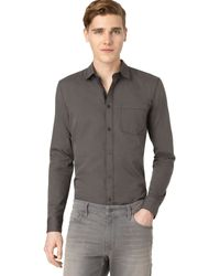 Calvin Klein Jeans Textured Shirt - Lyst