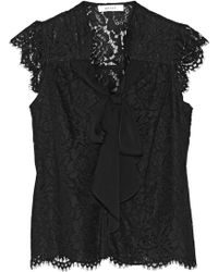 Milly Emily Lace Top - Lyst
