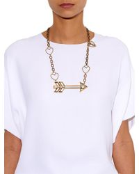 Lanvin - 125 Charms Arrow Necklace - Lyst