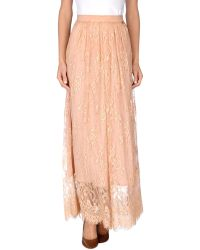 Twin-set Simona Barbieri Long Skirt - Lyst