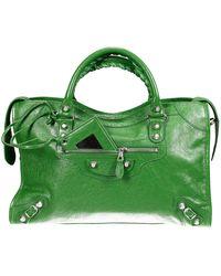Balenciaga Handbag City Classic Giant With Studs Metal - Lyst