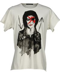 Reception | Diamonds Face Print Tshirt | Lyst