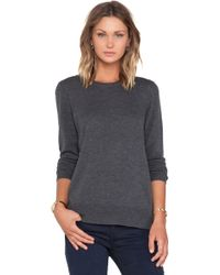 Rag & Bone Gray Natalie Sweater - Lyst
