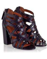 Ash Excelsior Black Brazil Heels - Lyst
