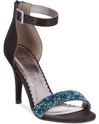 Rampage Forzmin Two-Piece Dress Sandals black - Lyst