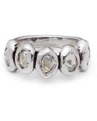 Alexis Bittar Antique Set Crystal Ring - Lyst