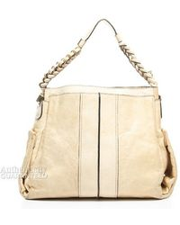 Chloé Preowned Ecru Leather Heloise Bag - Lyst