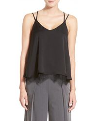 Chelsea28 Nordstrom | Lace Hem Camisole | Lyst
