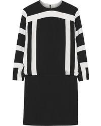 Chloé Printed Crepe Mini Dress - Lyst