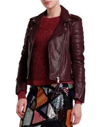 2nd Day - Lyla Leather Jacket - Lyst