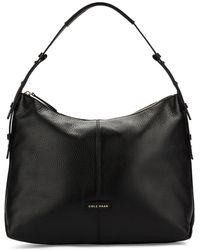 Cole Haan Leather Hobo Bag - Lyst