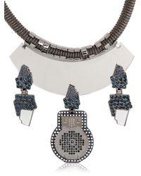 Ledaotto - Rome Pantheon Necklace - Lyst