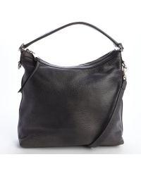 Gucci Granite Distressed Leather Miss Gg Hobo Shoulder Bag - Lyst