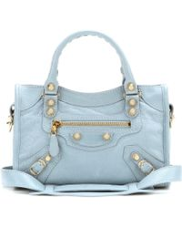 Balenciaga Giant 12 Mini City Leather Tote - Lyst
