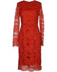 Elisabetta Franchi Knee-Length Dress - Lyst
