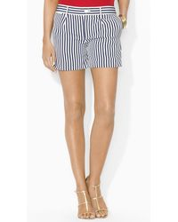 Ralph Lauren Lauren Stripe Shorts - Lyst