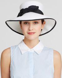 Helene Berman Audrey Sun Hat - Lyst
