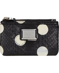 Marc By Marc Jacobs Dotty Snake Key Pouch - Lyst