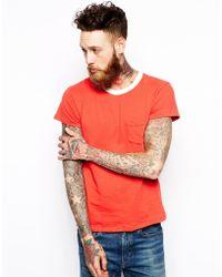 Levi's Clothing T-shirt Sportswear Slim Fit 1 Pocket - Lyst